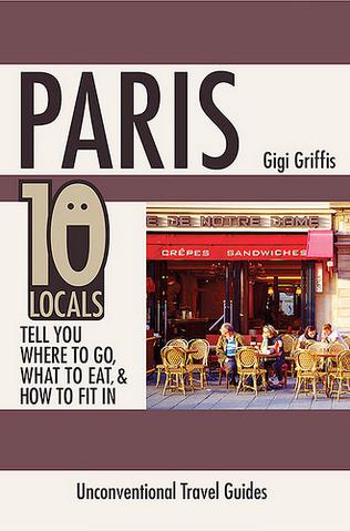 Paris: 10 locals, book cover