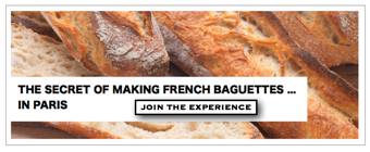 Discover the secrets of making French baguettes with Wonderful Time, Sidebar Ad