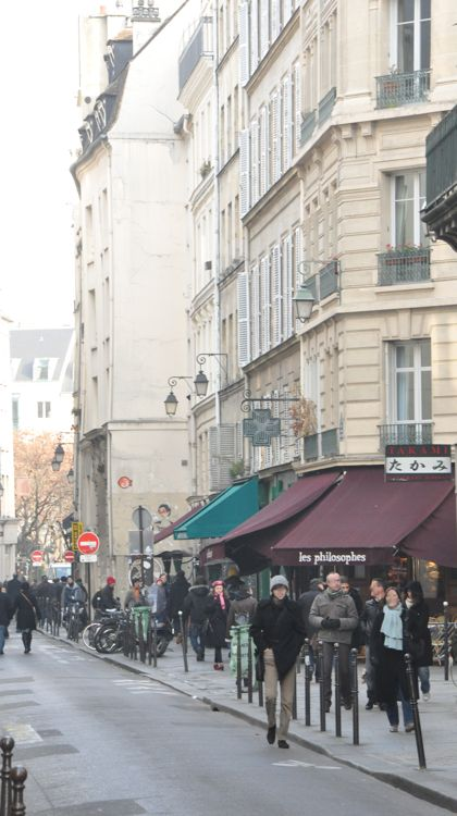 Strolling the streets of Paris, France.