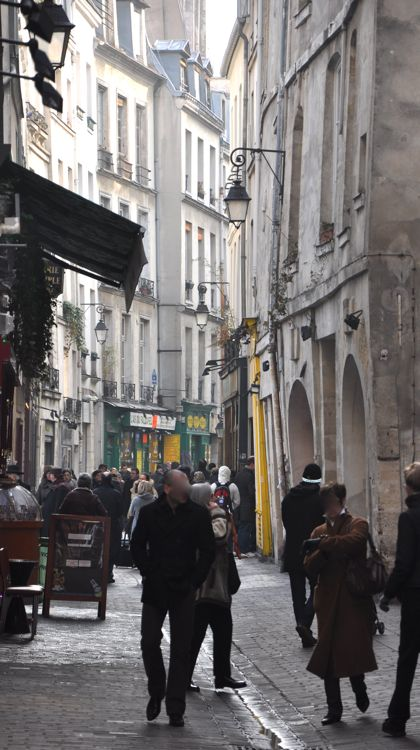 Paris' many narrow streets make every turn an adventure.