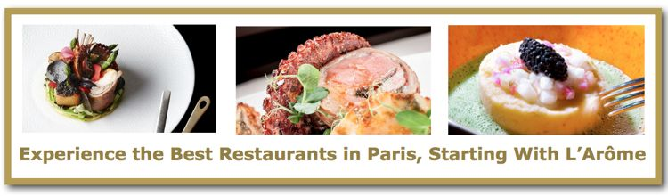 Read Wonderful Time's review of L'Arôme, one of the best restaurants in Paris.