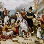 First Thanksgiving 1621, by Jean Leon Gerome Ferris