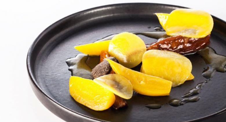 Innovative French Cusine by Ichiei Taguma, chef at Loiseau Rive Droite, Paris, France.