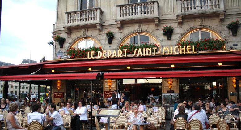 Le Départ Saint Michel, Paris Brasserie, 1 Place Saint-Michel, 75005 Paris