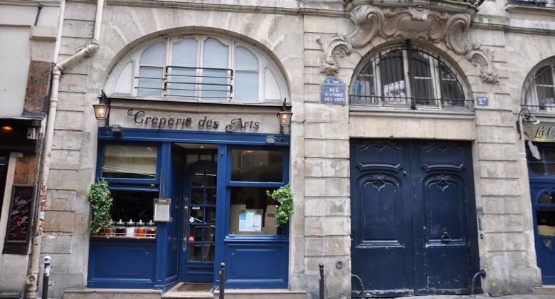 Crêperie des Arts, Paris, 27 Rue Saint-André des Arts, 75006 Paris
