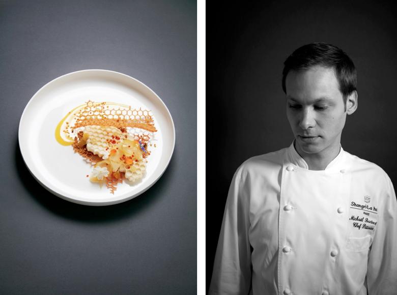 Michaël Bartocetti (restaurant L'Abeille), best dessert nominee for Les Lebey de la gastronomie, 2017