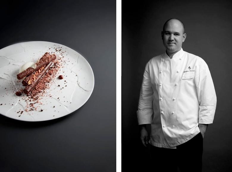 Stephane Tranchet (Le Cinq) - Best Dessert Nominee, 2017 Edition of Les Lebey de la Gastronomie, Paris