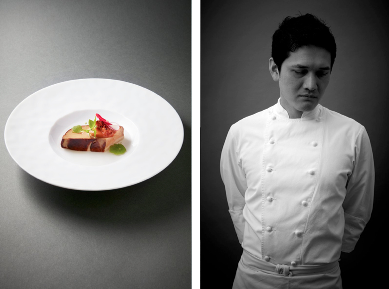 Takayuki Honjo (Restaurant ES) - Best Entree Nominee, 2017 Edition of Les Lebey de la Gastronomie, Paris