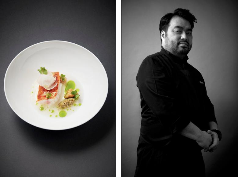 Koji Higaki (L'inconnu) - Best Fish & Crustacean Nominee, 2017 Edition of Les Lebey de la Gastronomie, Paris