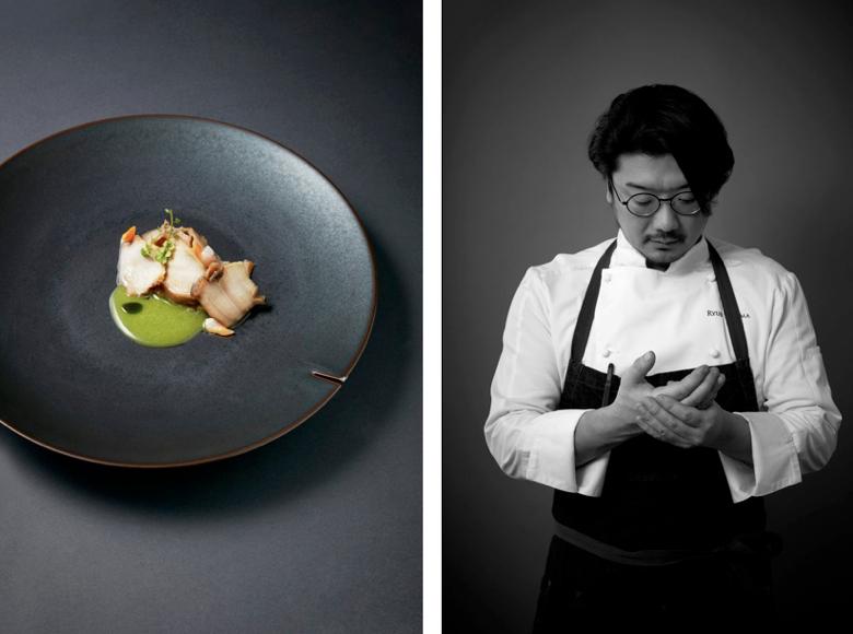 Ryuji Teshima (Restaurant Pages) - Best Fish & Crustacean Nominee, 2017 Edition of Les Lebey de la Gastronomie, Paris