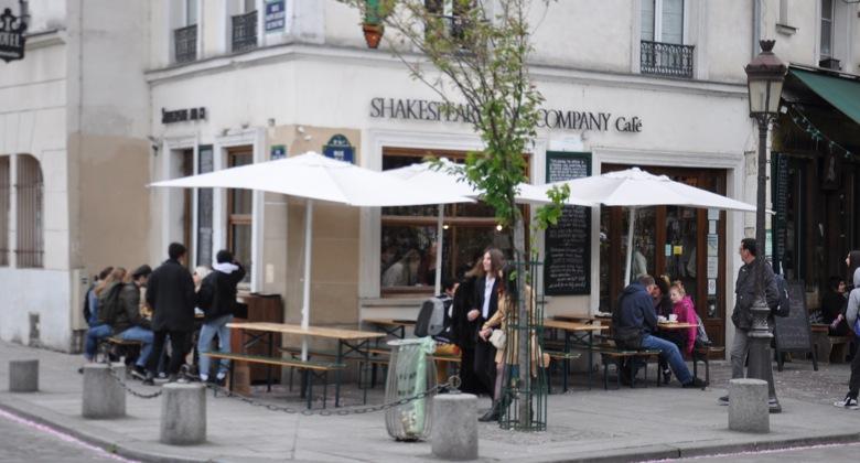Shakespeare and Company Café, Paris, 37 Rue de la Bûcherie, 75005 Paris