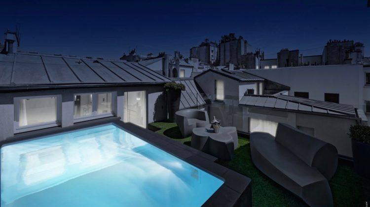 Hotel 1K Paris, Pool Suite