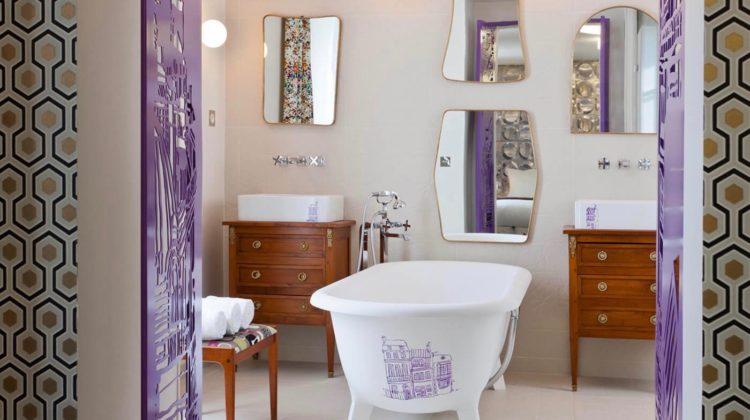 Hôtel Crayon Paris, Bathroom