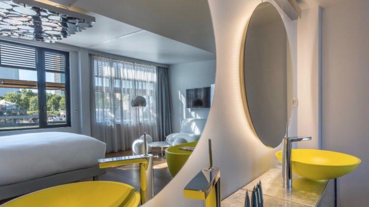 Off Paris Seine, Interior Design