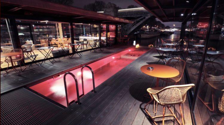 Off Paris Seine, Pool Night