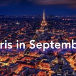 Paris in September Night Scape